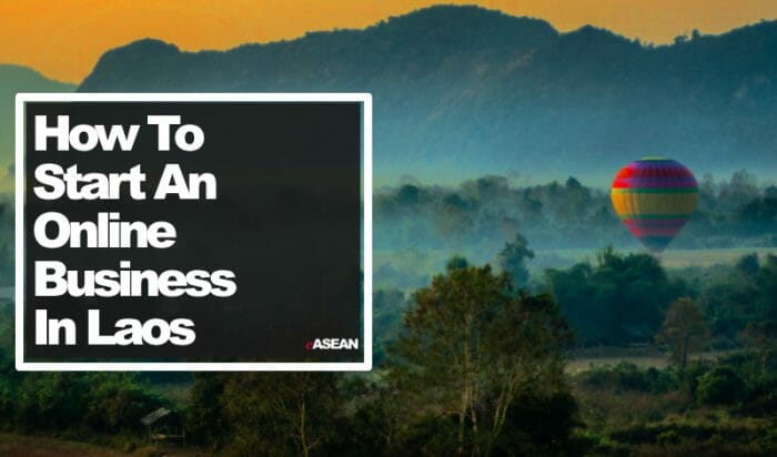 how to start an online business in laos