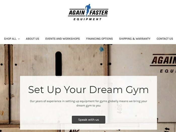ecommerce store singapore - Again Faster