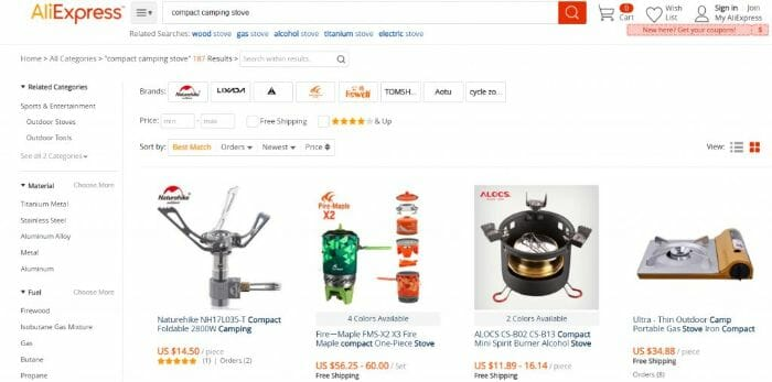 Aliexpress delivers to the ASEAN Region