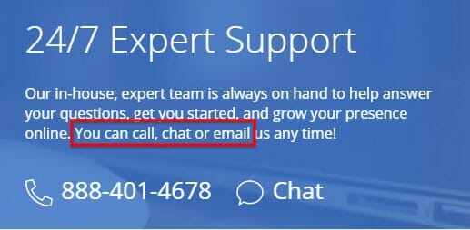 Best Customer Support - Bluehost Domain Website Hosting