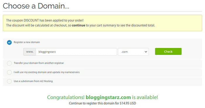 picking a domain name for your first blog in Asia