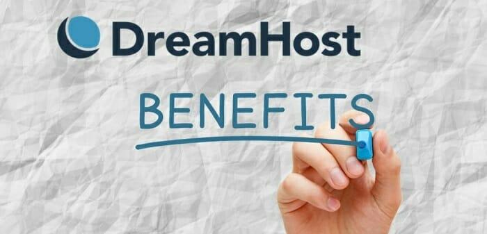 dreamhost benefits