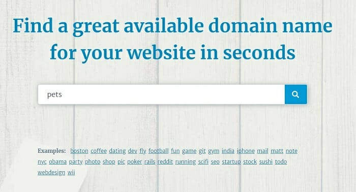 ecommerce domain research leandomain