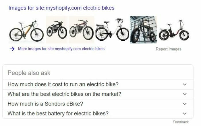 eCommerce Niche Research Shopify Google