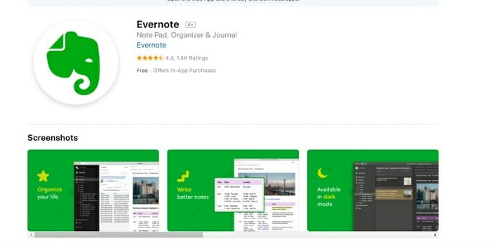 evernote Goal Setting For eCommerce