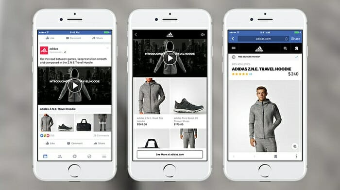 southeast asia ecommerce ads on facebook