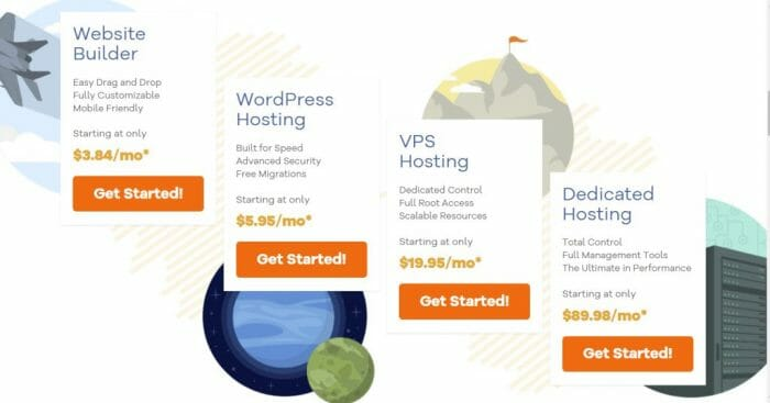 HostGator all web hosting plans in Southeast Asia
