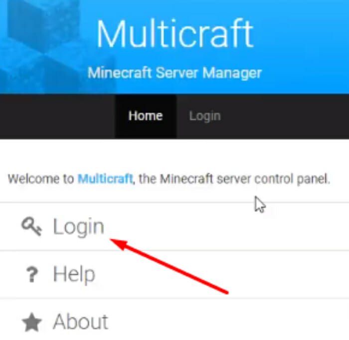 Hostinger Multicraft login