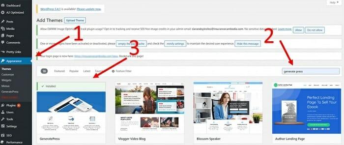How to Change Theme of a WordPress website in Myanmar