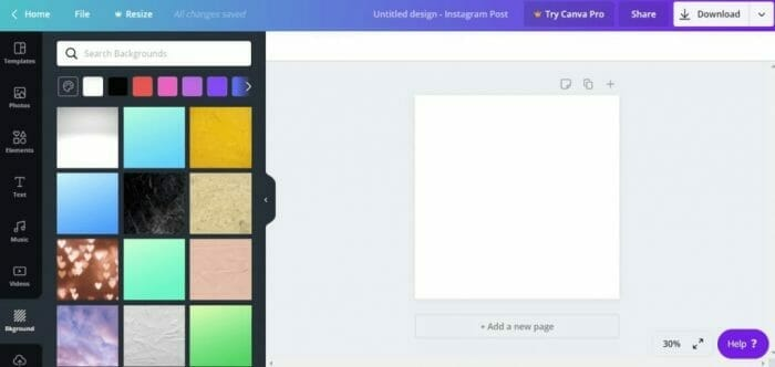 how to design an image in canva for free