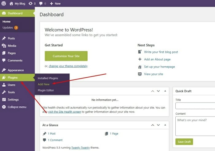 how to install a plugin in WordPress easily in 2020
