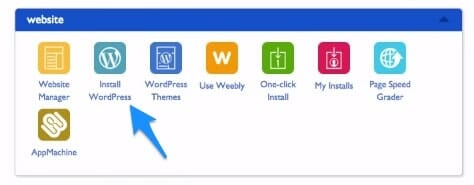 how to install wordpress from bluehost cpanel to make an adsense website