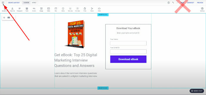 how to save Instapage landing page easily