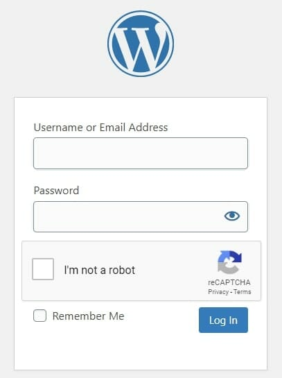 How to Sign into A WordPress website in Laos