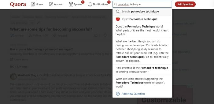 How to use quora for niche research
