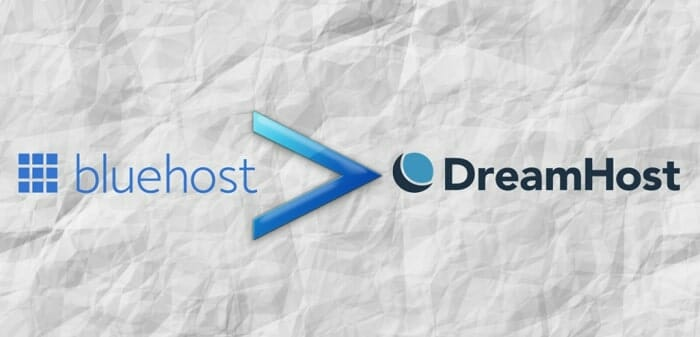 why bluehost is better than dreamhost?