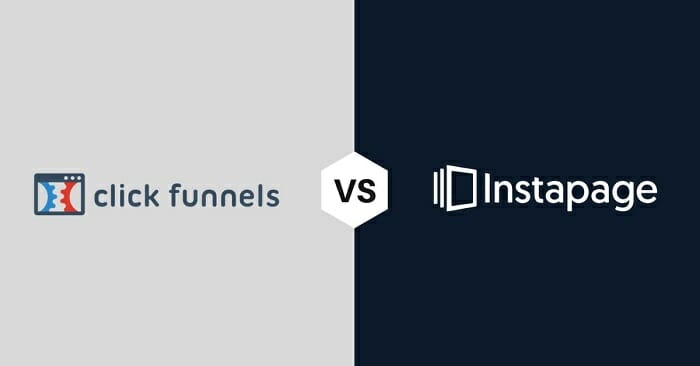 Clickfunnels vs instapage who wins