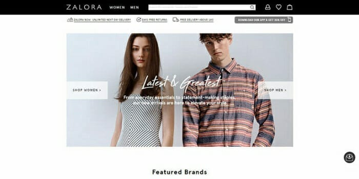 largest fashion ecommerce site zalora singapore