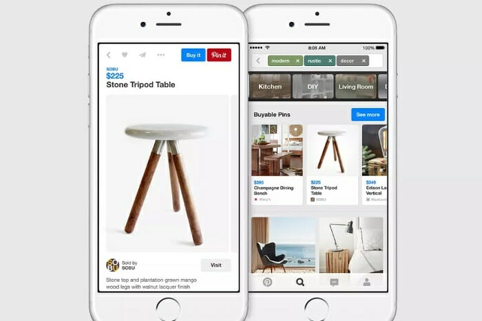 pinterest ecommerce buy button southeast asia