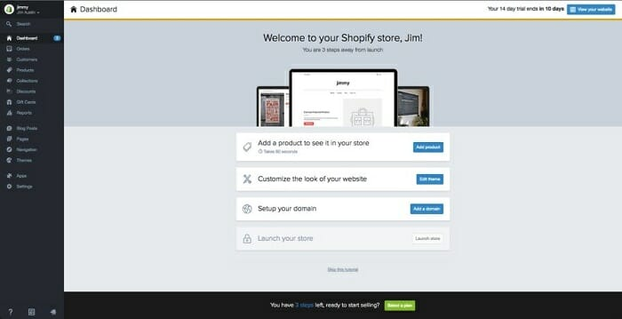 advantages of shopify hosting