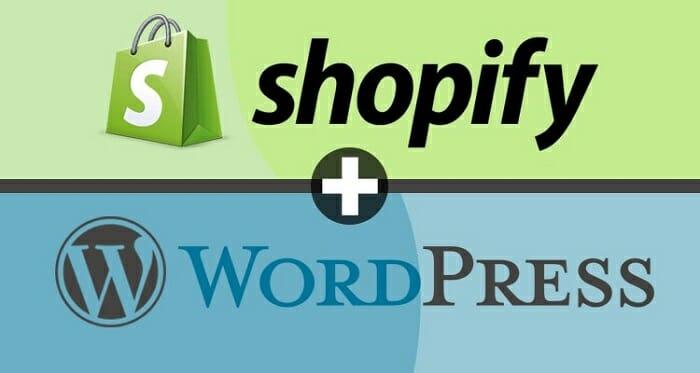 Shopify and WordPress