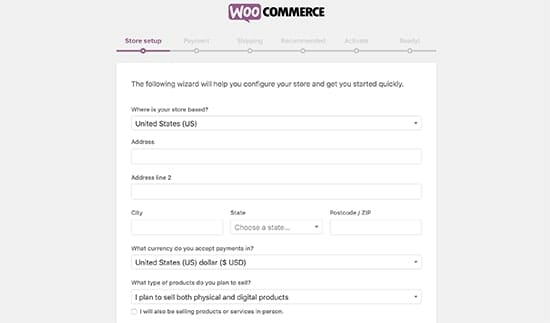 Sign up Woocommerce tutorial for beginners