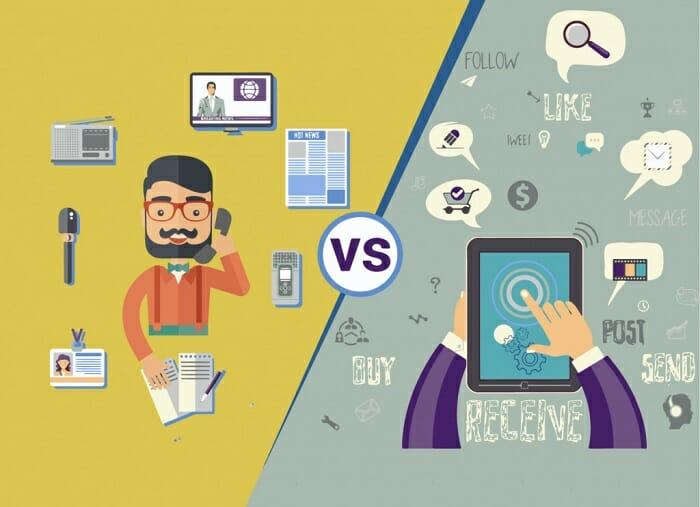 traditional media to digital transformation