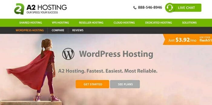 Why A2 Hosting is Best for WordPress in Asia?