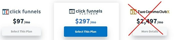 How much does ClickFunnels cost?