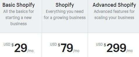 Shopify pricing review for eCommerce