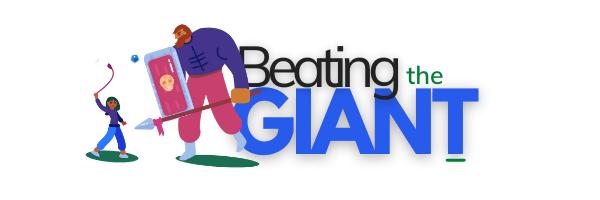 beating the giant affiliate training logo